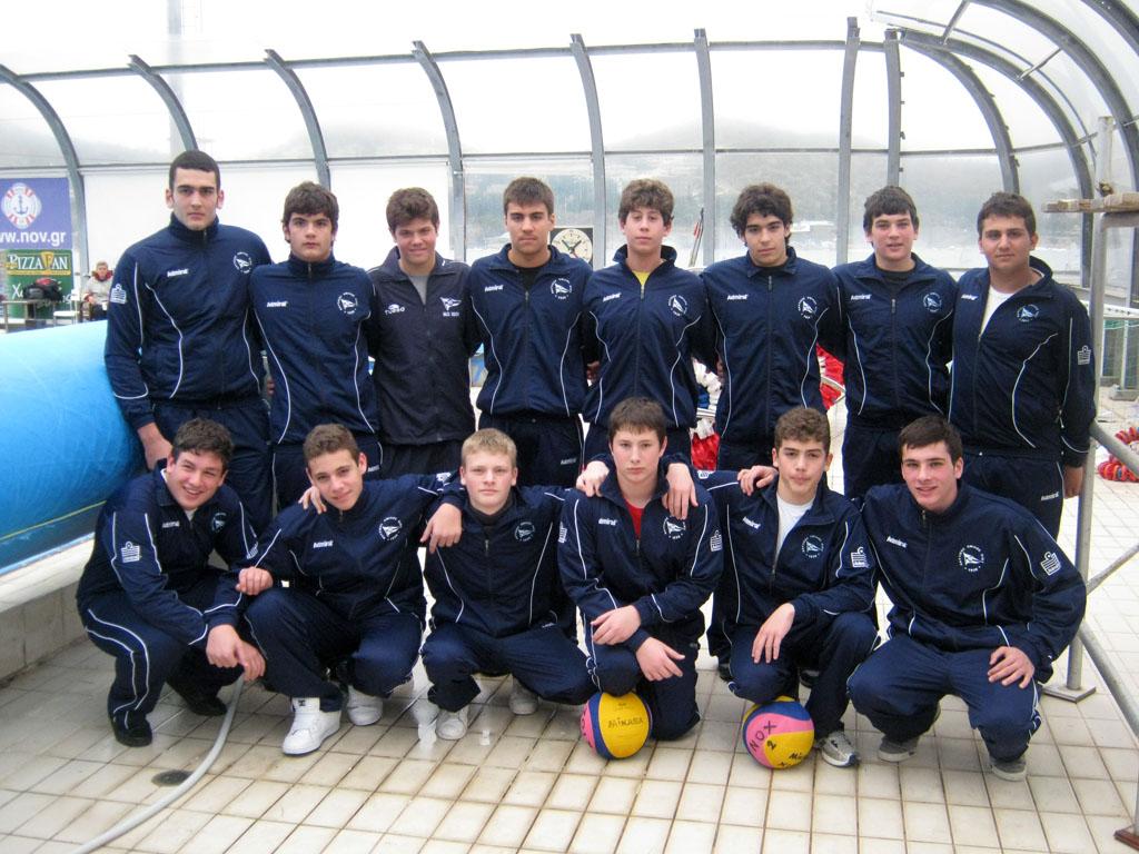 Ομάδα Πόλο Νέων Ανδρών 2012