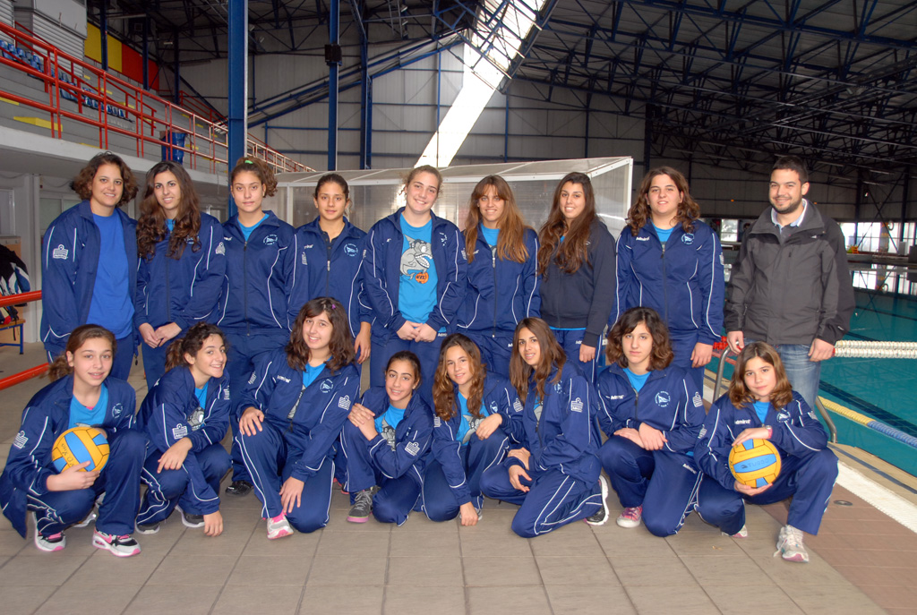 Ομάδα Πόλο Νέων Γυναικών 2013