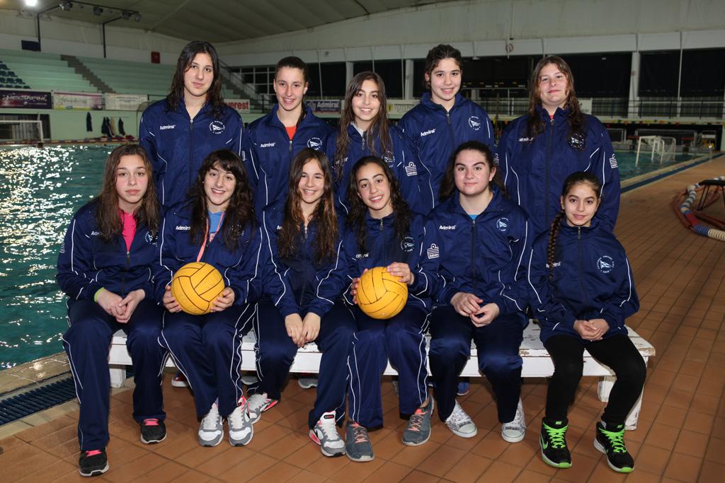 Ομάδα Πόλο Νεανίδων ΝΟΧ 2014-15