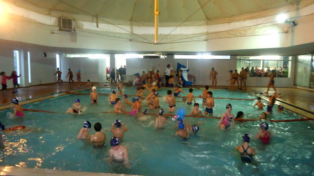 Χριστουγεννιάτικη Γιορτή Κολύμβησης 2014