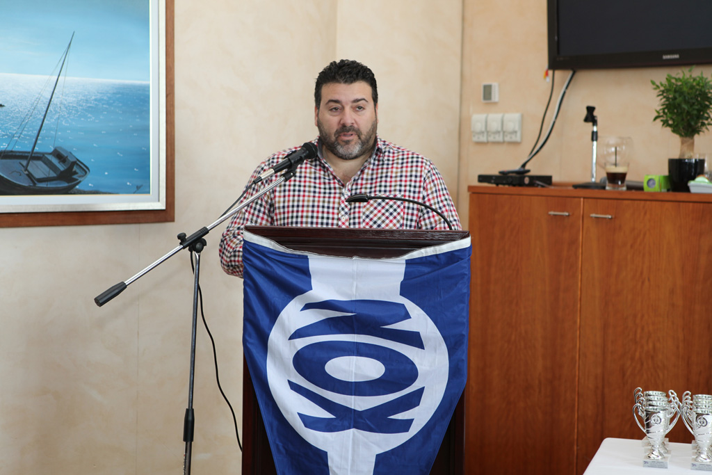 Ομιλία προέδρου ΝΟΧ Α. Μελέκου