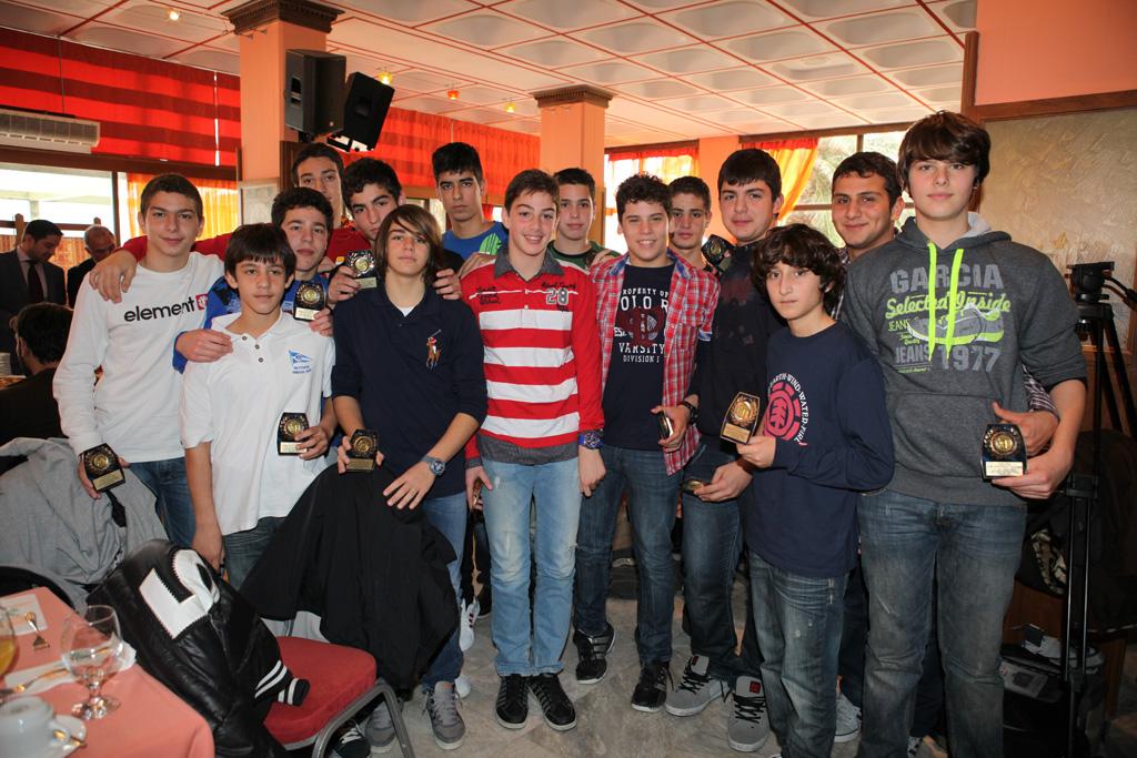 Ομάδα Πόλο Παίδων 2012